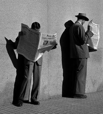 German Lorca, À Procura de Emprego, 1951