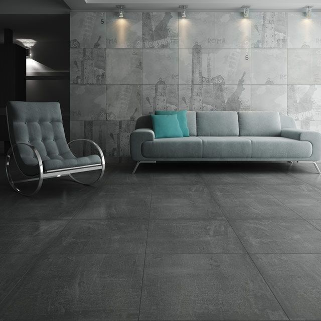 78 ideas about carrelage 60x60 na pintereste imitation for Carrelage sol gris anthracite