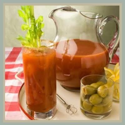 pinterest fanatic {wordless wednesday} homemade bloody mary's recipe