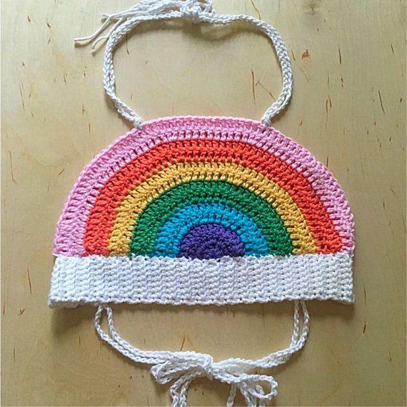 Mejores 41 imágenes de Top para niña crochet. en Pinterest | Tejidos ...