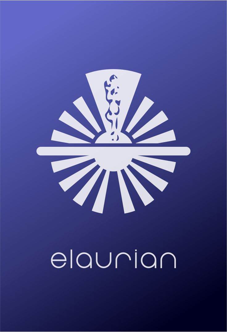 Star Trek Elaurian Cooperative Logo Flat Design