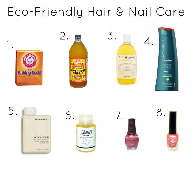 Eco-Friendly Hair & Nail Care on the blog!