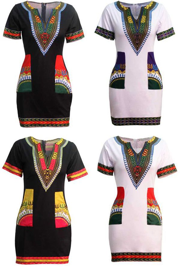 African Dashiki Dress