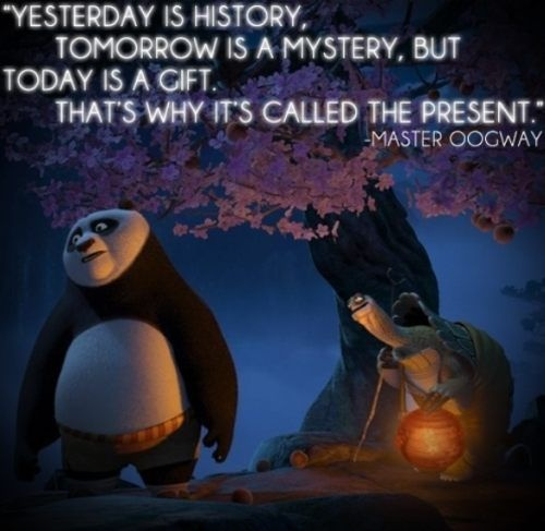 My favorite quote from a cartoon movie!