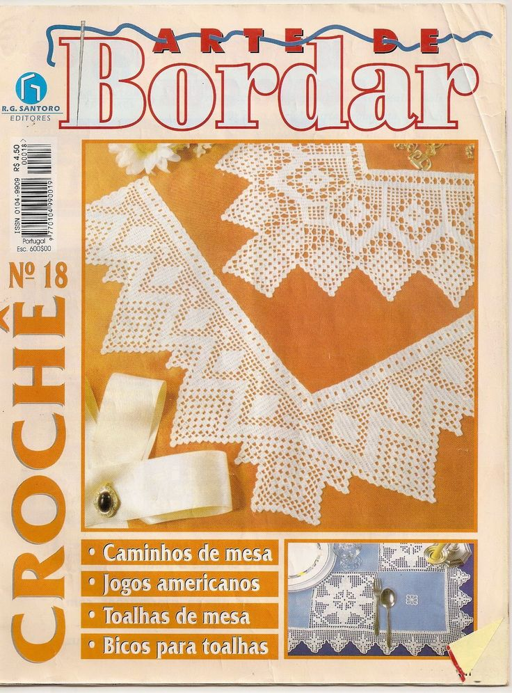 РУКОДЕЛИЕ:ВЯЗАНИЕ,ШИТЬЕ_КРОЙ: #Bordar18_croche