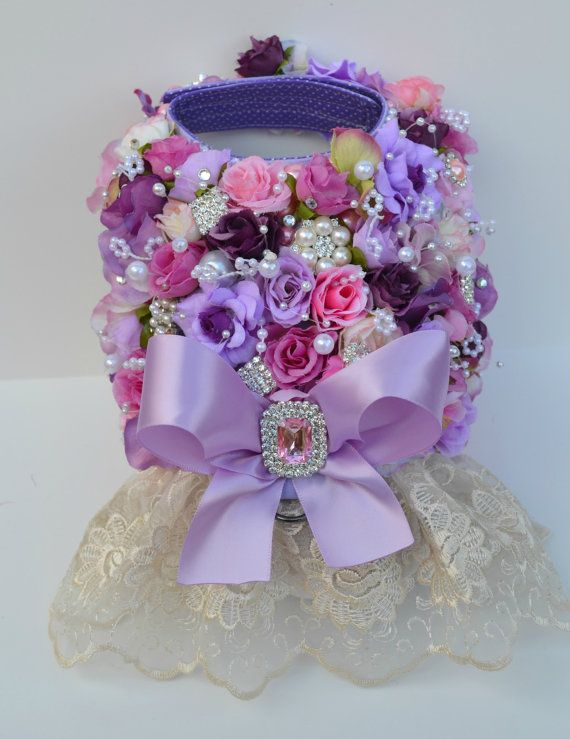 Purple English Garden Rose Dog Harness by KOCouture on Etsy  Pet clothing, wedding, bridesmaid, yorkie, chihuahua, maltese, poodle, pug, greyhound, cute, puppy, dog