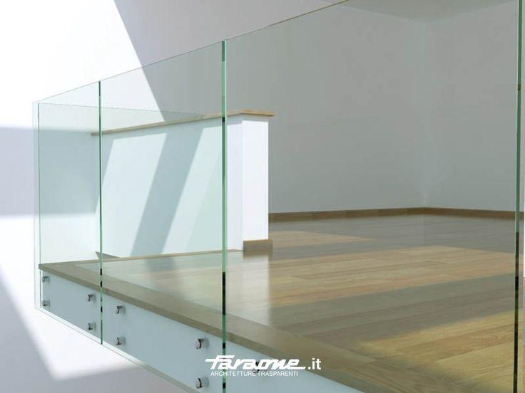 Garde-corps en verre ALBA by FARAONE design Nino Faraone