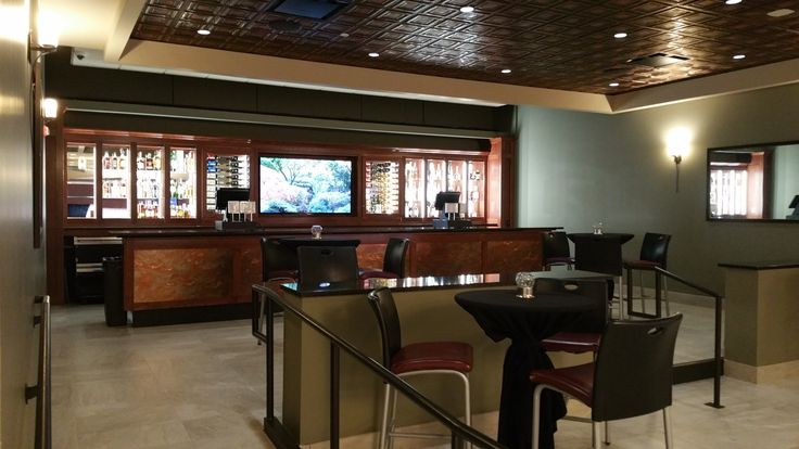 This is the bar on the Mezzanine level.