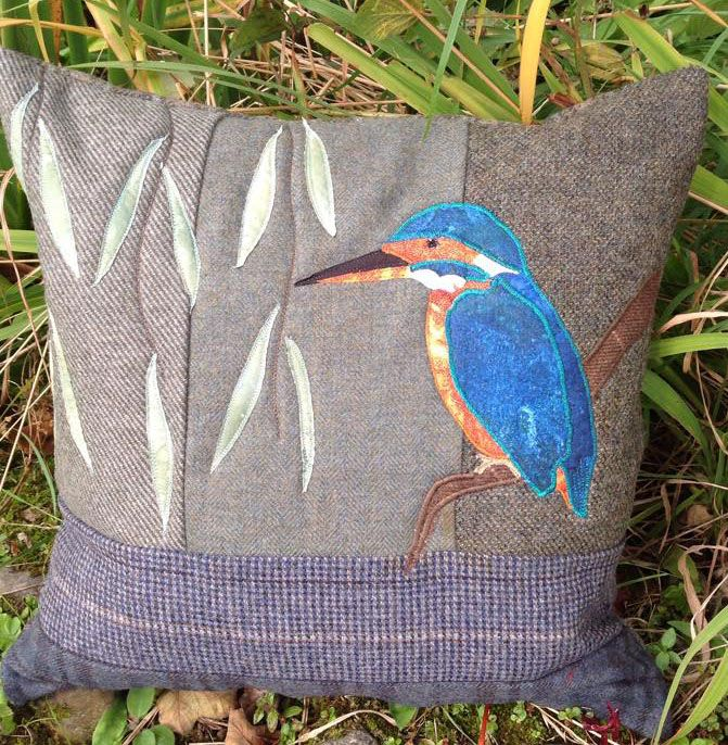 King of the Ribble kit  I will make this with lovely British tweed and my Indian sari fabric for the bird.