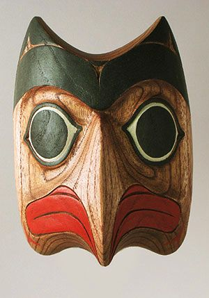 Native American Bird Mask, Tlingit people, Alaska
