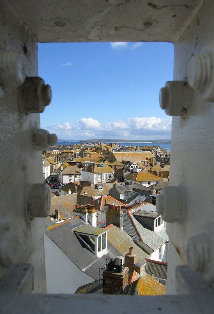 St. Ives Cornwall, UK....rooftops