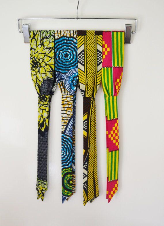 African Headband/ Ankara Headband/ Kente Headband/ African Tie Headband/ Julius Holland Headband / Womens Headband/50's Wax Headband/'Ngozi'