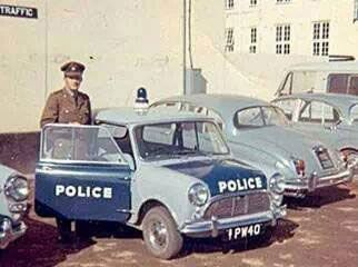 BSAP (Traffic Dept.). One of the best police forces in the world at the time.