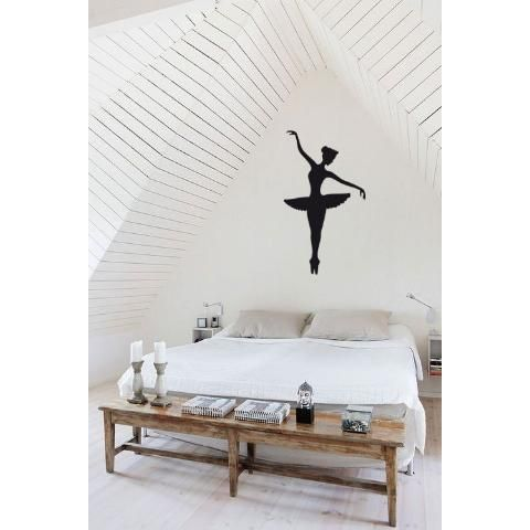 BAILARINA CLASICA, VIINILOS DECORATIVOS, WALL STICKER DECOR