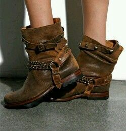 Belted boots boots fall boho bohemian shoes zapatos cool boots gypsy festival