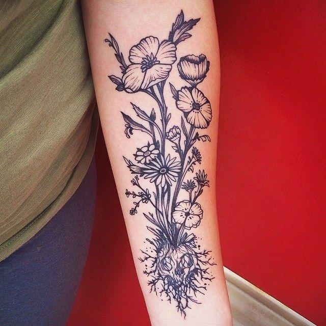 pinterest tattoo motive unterarm blumen tattoo tattoo motive tattoo armbeuge 1 000. Black Bedroom Furniture Sets. Home Design Ideas