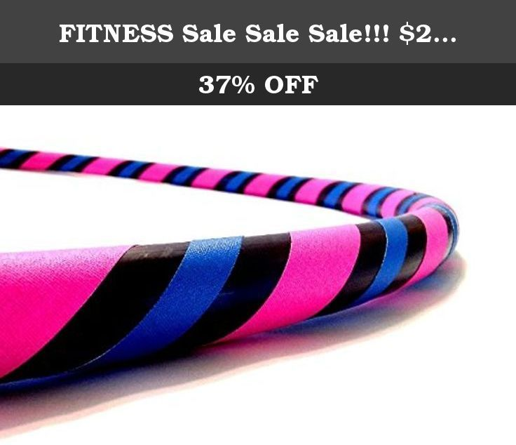 """FITNESS #Sale #Sale Sale!!! $25.00 40"""" Hula Hoop (Cotton Candy). DIRECT FROM THE MANUFACTURER. Featuring the original manufacturer of the """"BREAK AWAY"""" the newest innovation in hula hooping. Paradise Hoops is formally the manufacturer for about 90% of Hoopnotica's handmade hula hoops. We have the BEST QUALITY BEST PRICE. This """"BREAK AWAY"""" hula hoop was created by Janou Lightning former team leader of Hoopnotica. She took her expertise in the hooping industry and made a hoop that is easy to..."""