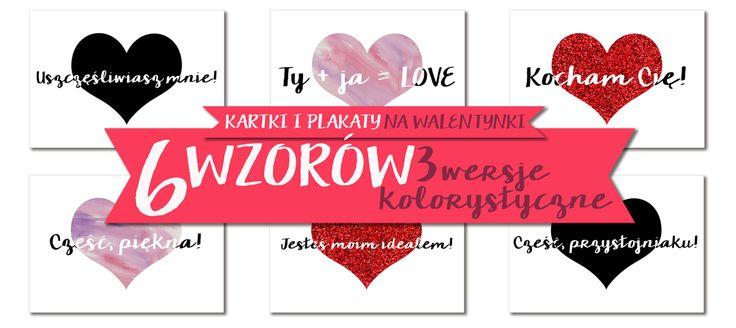 Walentynki last minute! | Darmowe plakaty i kartki do druku http://thecarolinasbook.net/walentynki-last-minute-darmowe-plakaty/