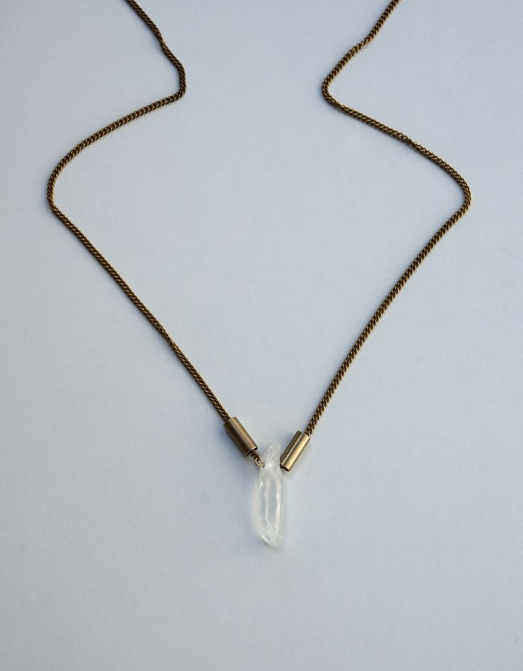 Raw White Quartz Crystal Necklace https://www.etsy.com/listing/190342096/raw-white-quartz-crystal-necklace?ref=shop_home_active_6