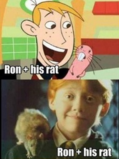 <3 Kim Possible & Harry Potter :3 Hahaha...Did anyone else notice that they're both red-heads?