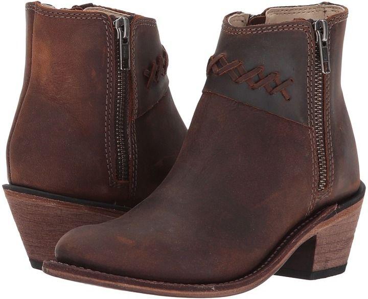 Old West Kids Boots - Fashion Zipper Cowboy Boots