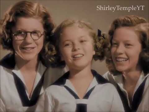 Shirley Temple Be Optimistic! From Little Miss Broadway 1938 - YouTube