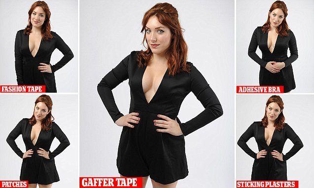 Can YOU recreate Kim Kardahians's gaffer tape bra?