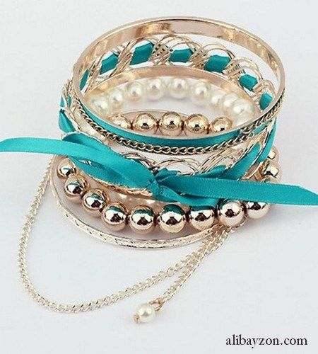 Blue Bangles Trendy Fashion Bracelet SALE!! BRACELET, ₩ 4,000, free shipping to korea other country add $2