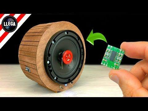 Diy Building Bluetooth Speaker With Mini Amplifier Youtube Diy Bluetooth Speaker Bluetooth Speakers Diy Speaker