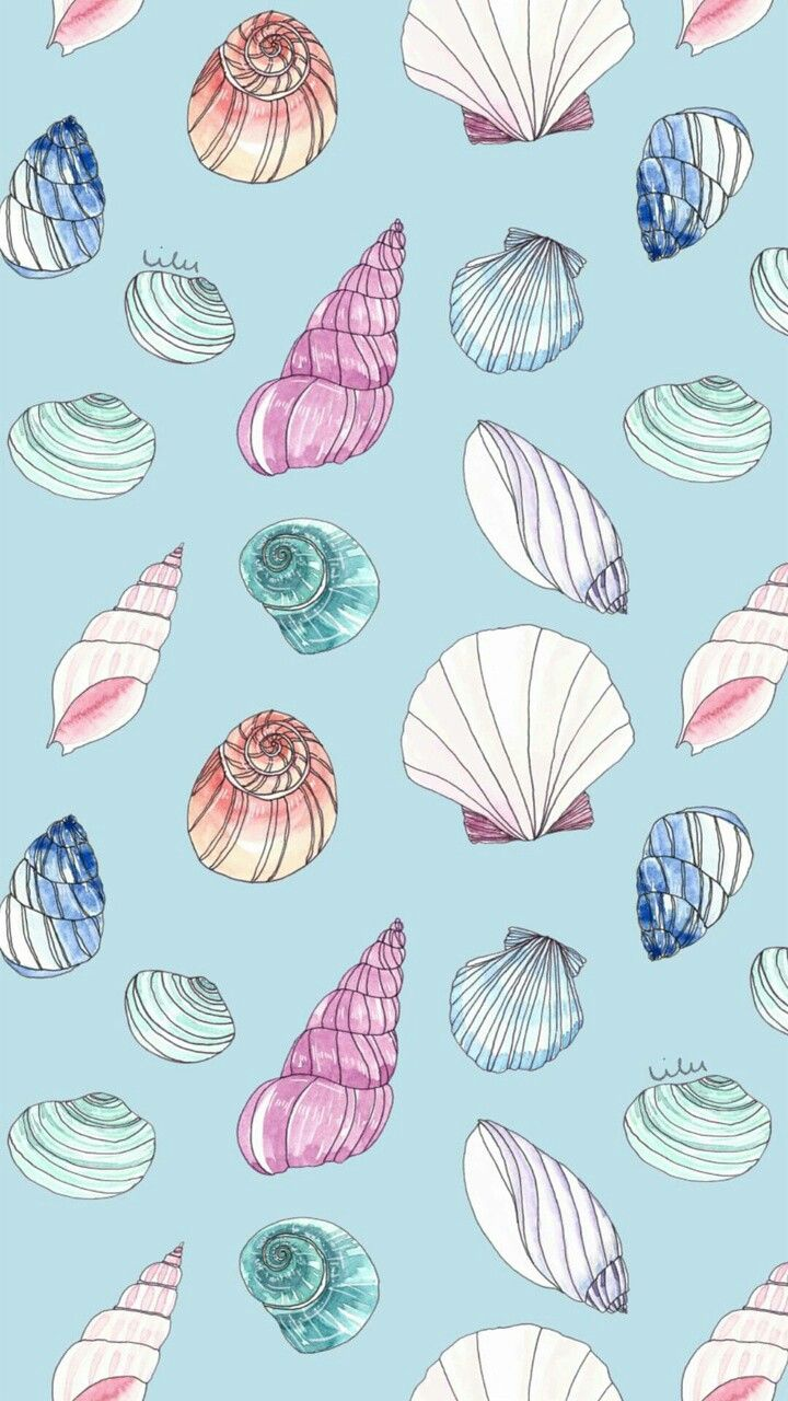 Mermaid iphone wallpaper tumblr - Wallpaper Shell And Background Image