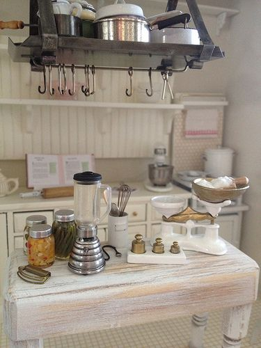 Miniature kitchen 1:12