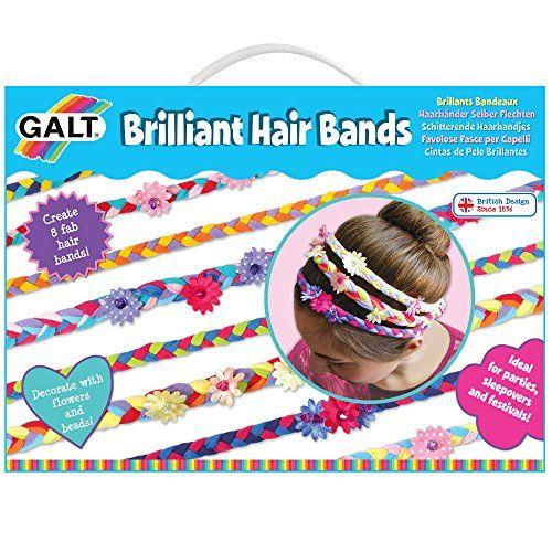 James Galt – 104309 – Kit De Loisirs Créatifs – Brillants Bandeaux: Créer 8 bandes de cheveux fab Age minimum : 6 ans Aucune couture…