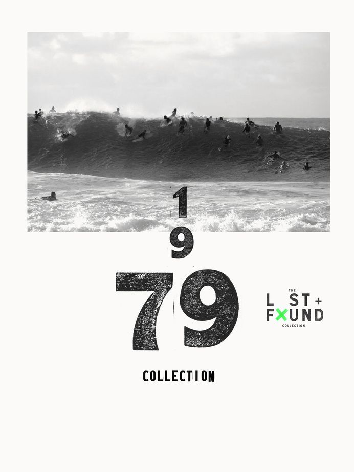 Surf, lost, found, black and white, vintage in Design