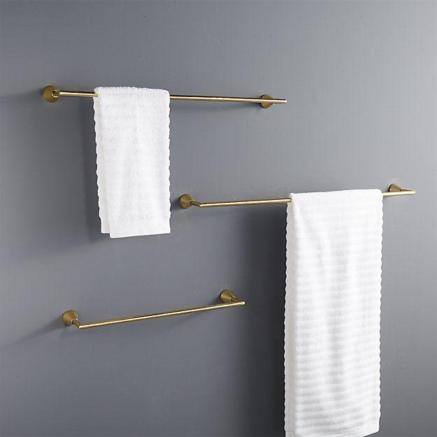 17 Best Ideas About Bathroom Towel Bars On Pinterest Bathroom Organization Farmhouse