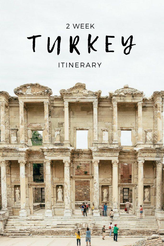 2 Week Turkey Trip – Ruins, Cappadocia & I …