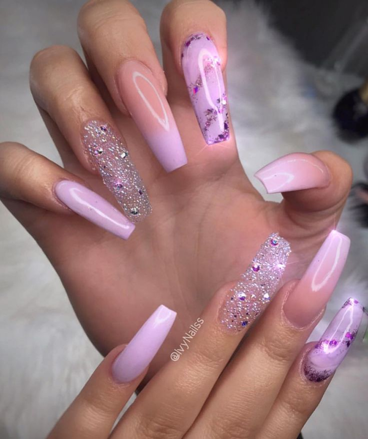 70 Trendy Designs Acrylic Nails To Try Once In 2020 Glitter Nails Acrylic Nails Inspiration Dream Nails