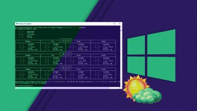 En el siguiente truco aprenderás a ver información del pronóstico del tiempo y el climacon PowerShell, la consola del sistema de Windows. Usted podrá obtener un informe bastante interesante del tiempo a través de Windows PowerShell utilizando el servicio WTTR. En PowerShell, hay un comando llamado cURL, que se utiliza para transferir los datos mediante la introducción de un enlace URL. Al igual que en WGET, ambos puedes encontrarlos en el sistema operativo GNU/Linux. Anteriormente ya hemos…