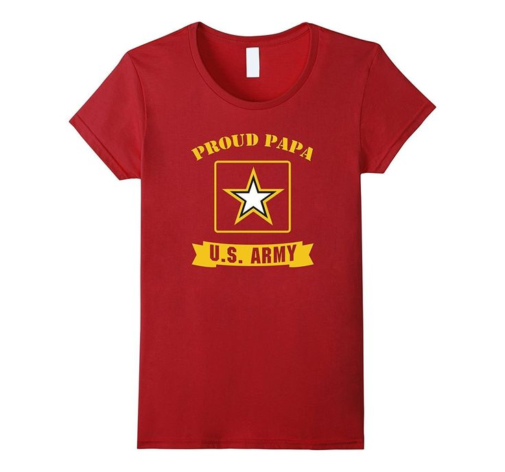 Proud Papa U.S. Army T-Shirt