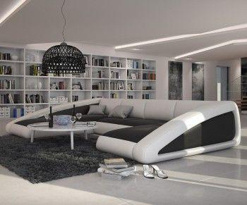 Wohnlandschaft oval  Die besten 25+ Big sofa leder Ideen auf Pinterest | Tan sofa ...