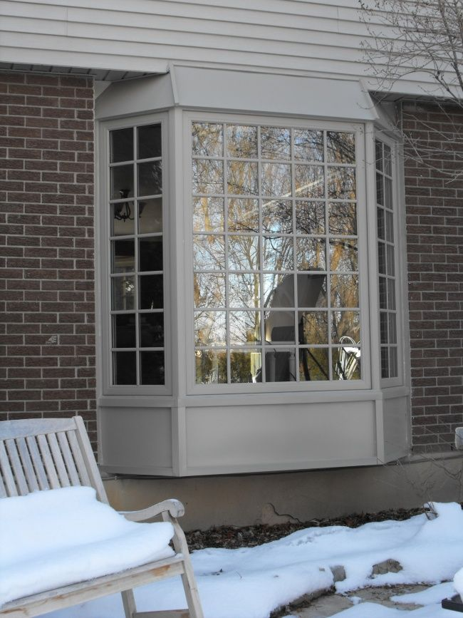 bay window addition hip roof  Google Search  Kitchen
