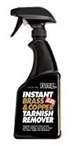 Flitz BC 01806 Light Brown Instant Brass and Copper Tarnish Remover, 16 oz. Spray Bottle