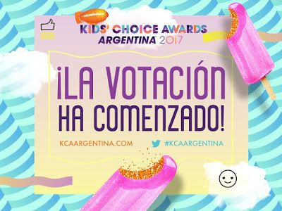 Nickelodeon Latin America Announces Kids Choice Awards Argentina 2017 Pre-Vote Nominees | #KCAArgentina