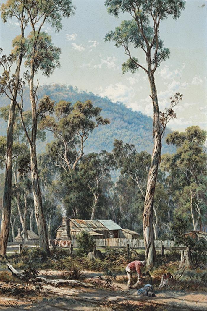 James Alfred Turner - Under Mt Dandenong 1888