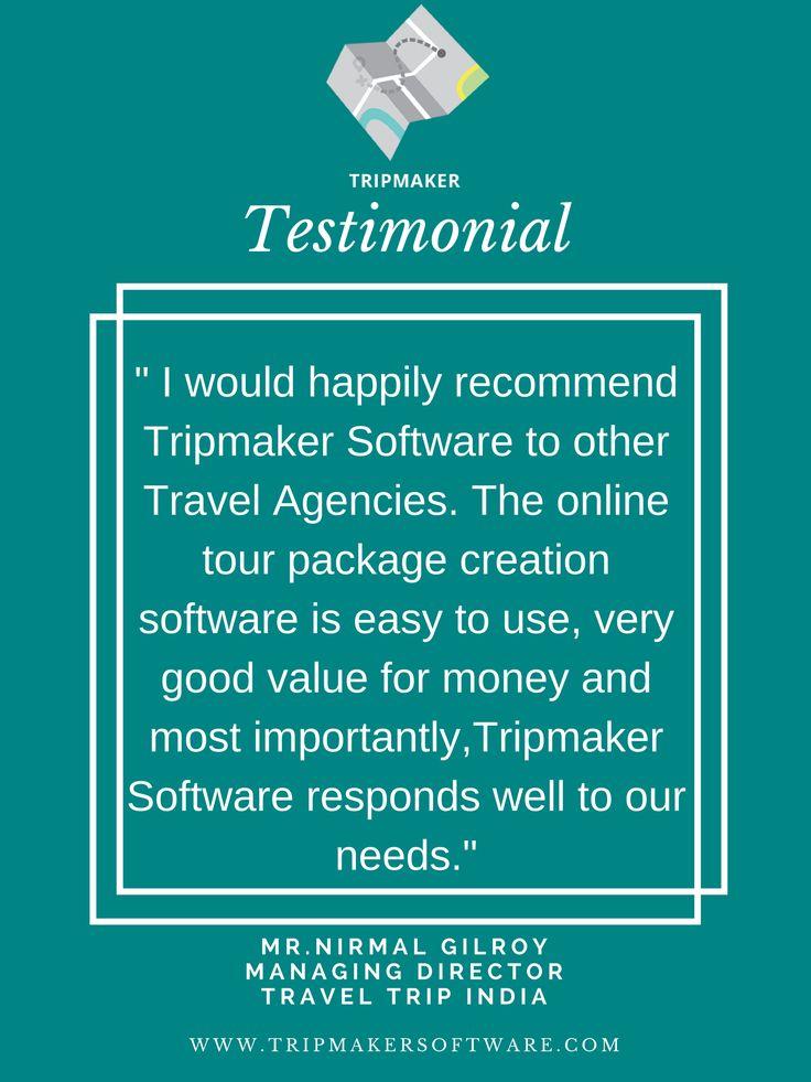 Trip Maker Software Review #TravelBookingSoftware - trip maker software
