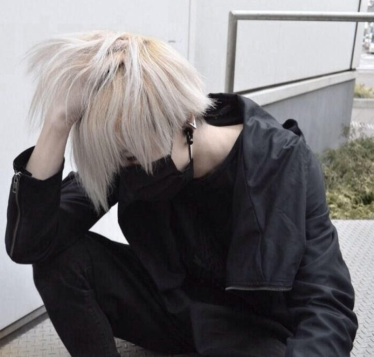 Blonde japanese boy — photo 8