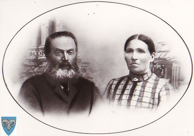 Endre og Karen Maria Søyland by gjesdal.bibliotek, via Flickr in Kyllingstad, Gjesdal, Rogaland