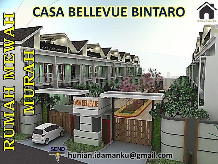 Rumah Mewah Murah Strategis | Casa Bellevue Bintaro | Lokasi Premiere | Selangkah Pusat Bisnis Bintaro