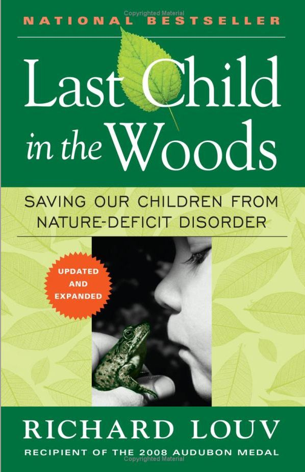 Great book supporting outdoor play.