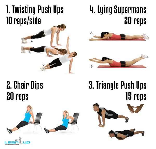 The Blizzard Blaster In-Home Workout Circuit [Workout Plans] — Lean It UP Fitness