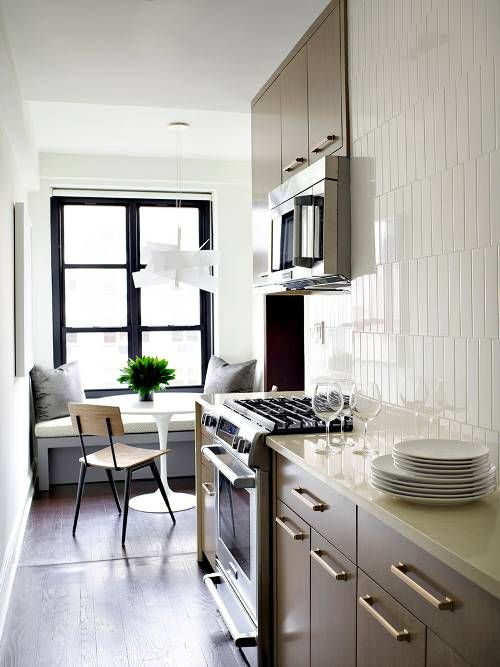 25 Absolutely Beautiful Small Kitchens Kitchens Pinterest